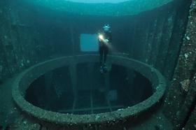 HMAS Adelaide inside